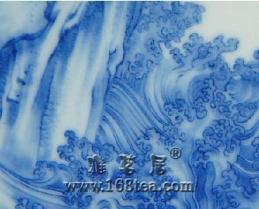 瓷器装饰纹饰之水波纹