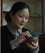 褚婷圆紫砂工艺美术师