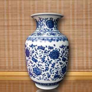 青花瓷水墨画—彰显异曲同工之妙,完美秉承中国文化脉搏