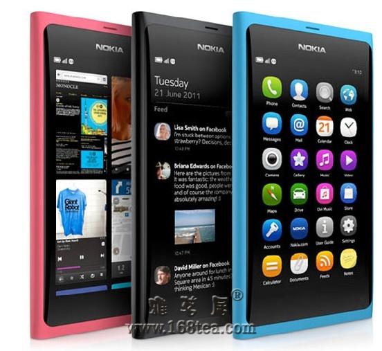 诺基亚N9,有着艺术品一般的Feel
