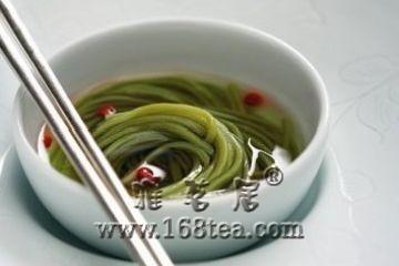 绿茶冷面的做法
