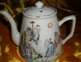 瓷器装饰纹饰之五老观图