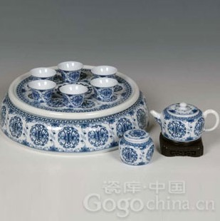 瓷器收藏—明天启、崇祯青花瓷器的艺术风格(一)