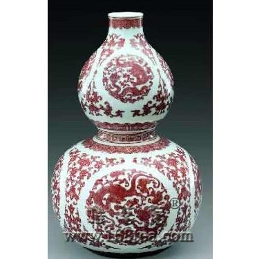陶瓷葫芦瓶详解—瓷器收藏