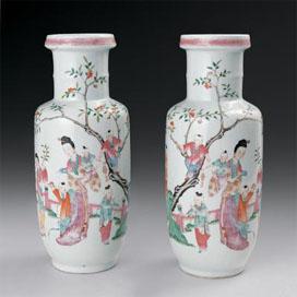 瓷器收藏—侍女瓷漫谈