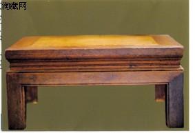 明式黄花梨炕桌(图)