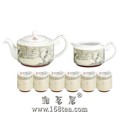 茶具的冲泡和文化流传自然而然的形成一种高雅的风气