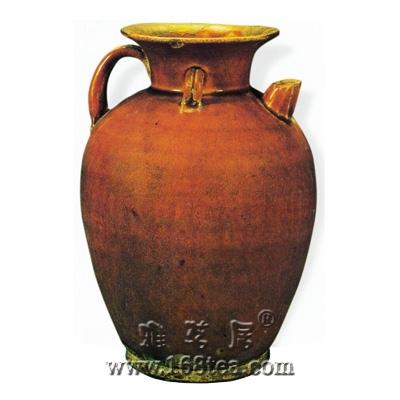 唐代寿州窑黄釉注子赏析