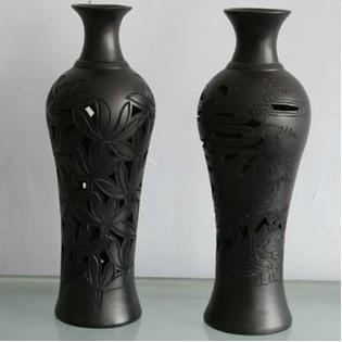 黑陶:时尚的古风藏品