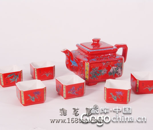 陶瓷紫砂茶具的艺术文化神韵,在龙年礼品中体现的只是冰山一角
