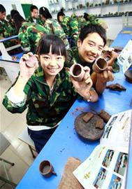 紫砂陶艺被列入教学计划