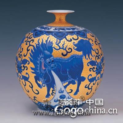 世界有限珍品-元青花瓷