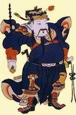 老北京的门神