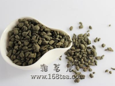 一种加工颗粒绿茶的新方法
