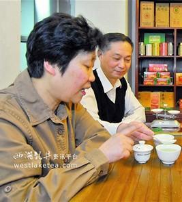评茶师陈郁榕的茶叶养生经