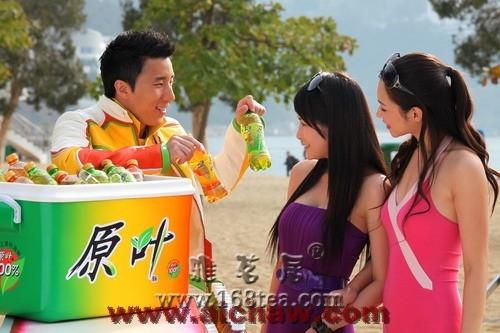 原叶茶饮料|成龙代言原叶茶饮料广告图片