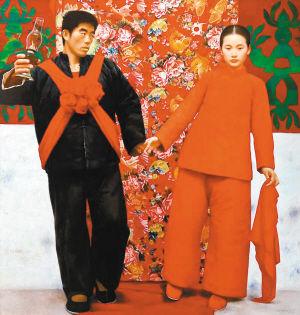 中国当代艺术吹响集结号:拍场频现千万级画作