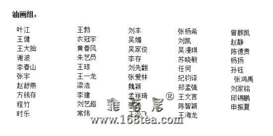 靳尚谊专项基金优秀毕业生扶植计划评选结果揭晓