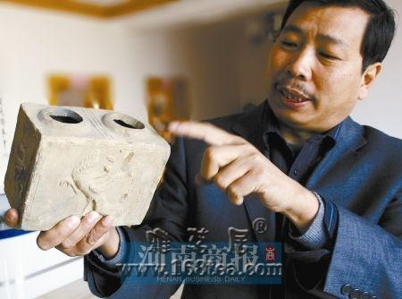 河南牛人收藏近20万枚古陶瓷片
