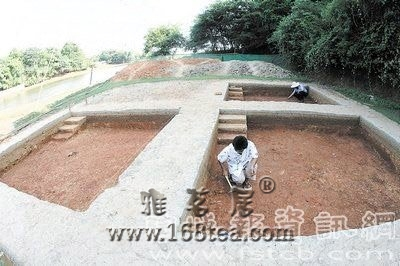 铜官窑遗址考古 地下瓷器作坊价值无可估量