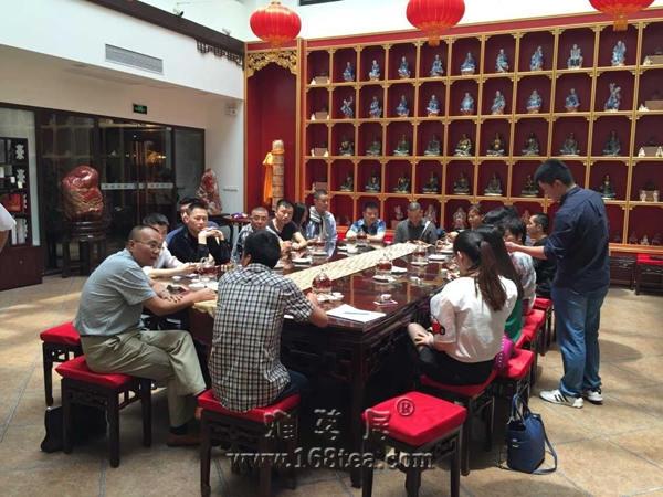 白沙溪黑茶震撼亮相中国(上海)国际茶业博览会