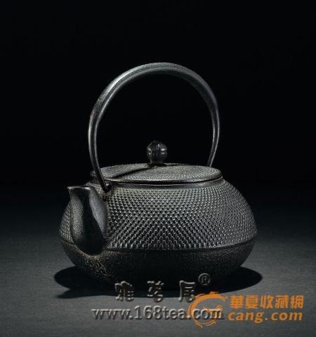 日本铁壶:异域工艺进入大众收藏