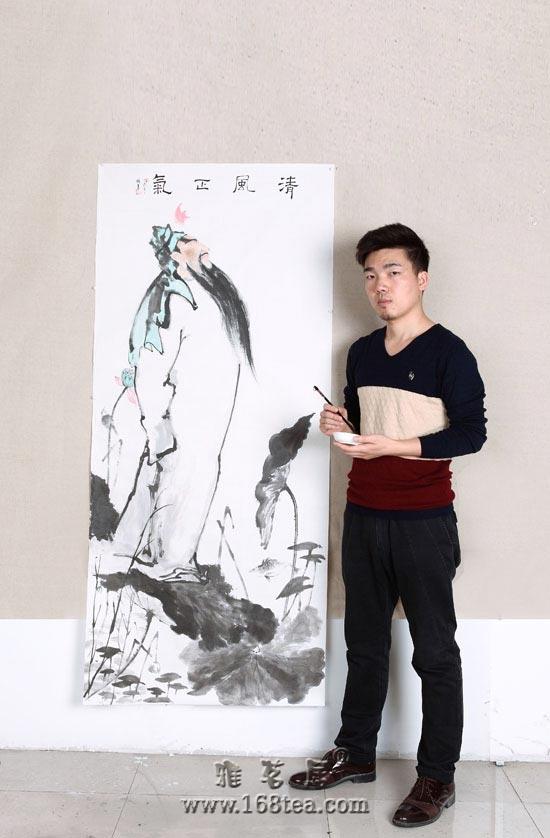 """杨军作品""""清风正气""""入选第三届中国廉政文化书画展"""