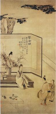 古画中体现的贤母之伟大_中国书画_新浪收藏_新浪网