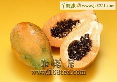 热带水果木瓜保养肌肤
