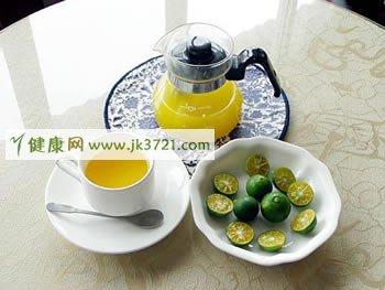 柠檬红茶:美白皮肤防感冒