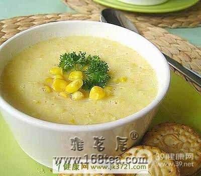 养血补血健康食品:奶黄香粥