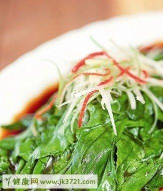 凉拌野菜做出健康食谱