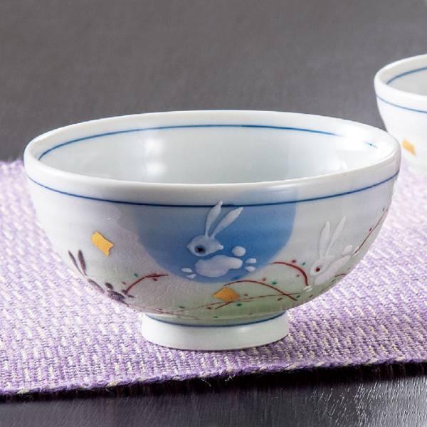 九谷焼 夫婦茶碗