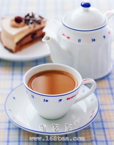 红茶加牛奶有害健康