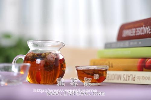 中医推荐排毒养颜茶