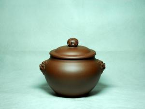 紫砂茶罐图片