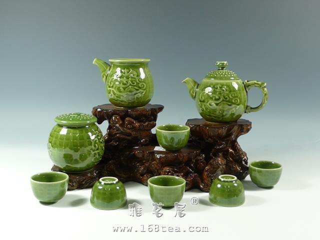 活瓷茶具介绍 陶瓷茶具