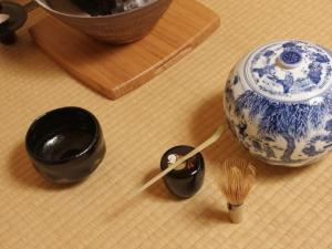 日本茶道茶具图片