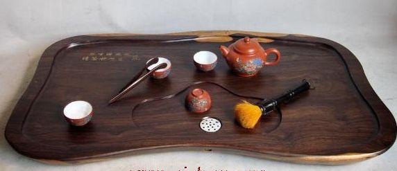 黑檀木茶盘图片欣赏