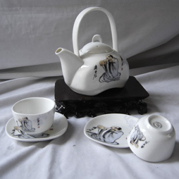 陶瓷茶具图片欣赏