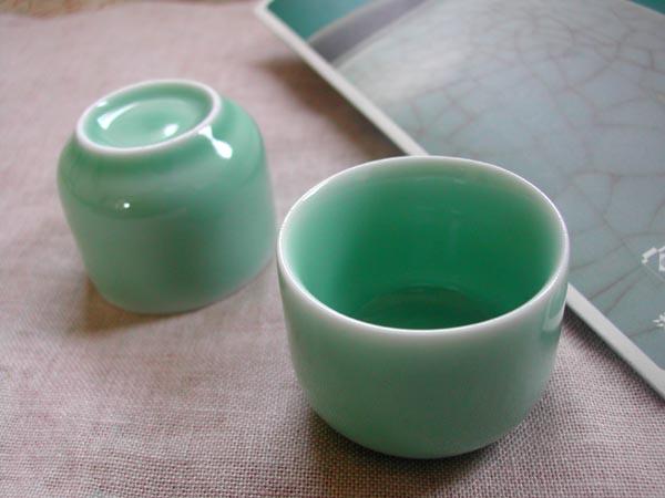 青瓷茶具图片欣赏