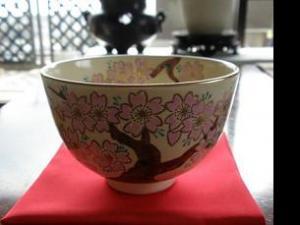 樱花茶碗图片