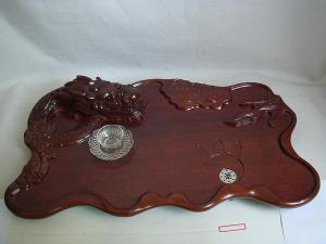 大型根雕茶盘图片