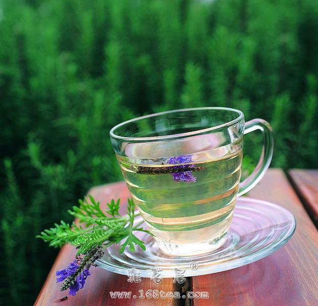 桂香荷叶茶的做法