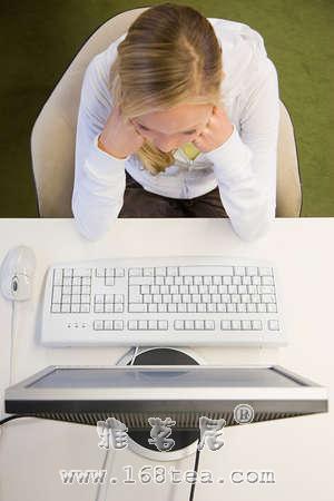 电脑族的茶饮