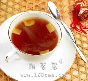 夏日喝生姜茶