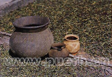 饮茶习俗--哈尼族的土锅茶