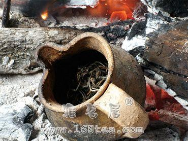 拉祜族的烤茶