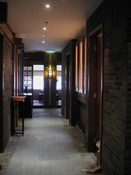现代茶馆设计与灯具