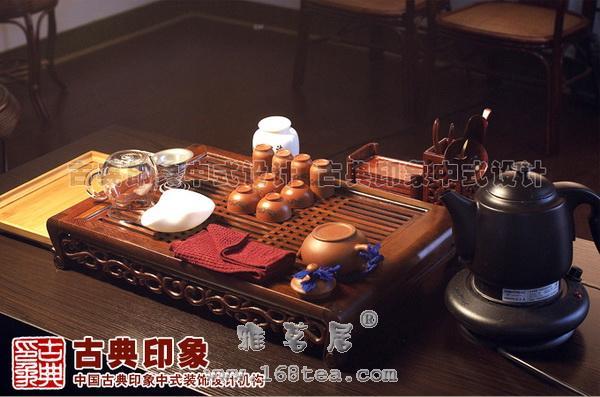 功夫茶为中式茶馆的茶道形式